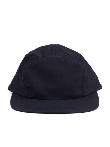 Reigning Champ Stretch Nylon 5 Panel Hat in Black