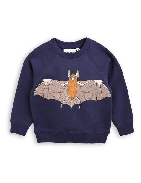 Kid's Mini Rodini FLYING BAT SWEATSHIRT - NAVY