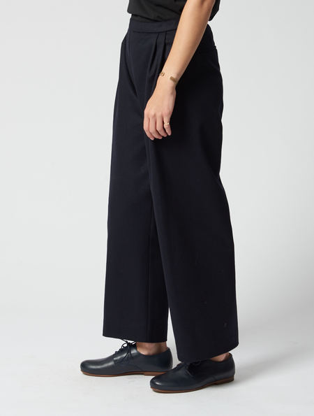 Stephan Schneider Navy Swing Trousers