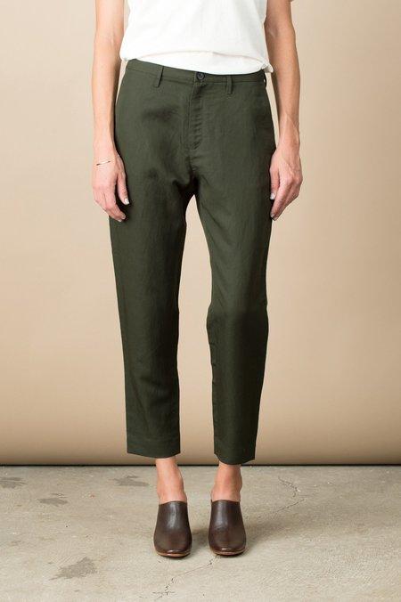 Hope Krissy Trouser In Khaki Green