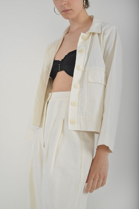 Ilana Kohn Mabel Jacket in Cream