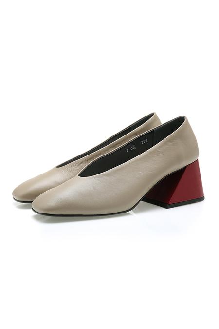 Yuul Yie  Square Toe Heel - Grey