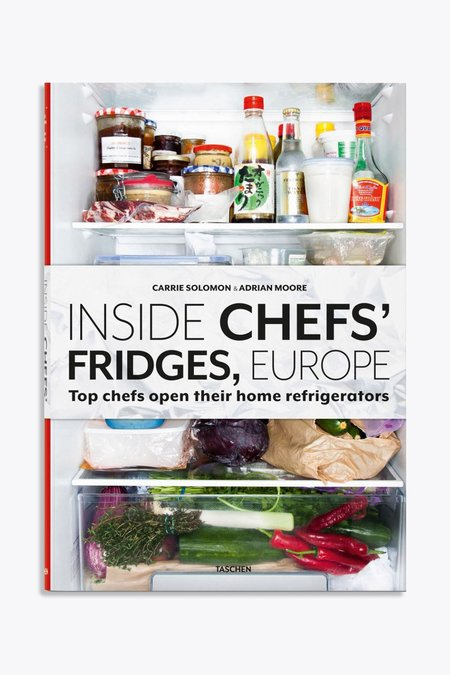 Taschen Inside chefs' fridges europe hardcover