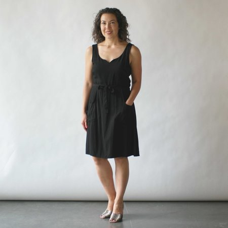 Field Day Wrap Dress - Black