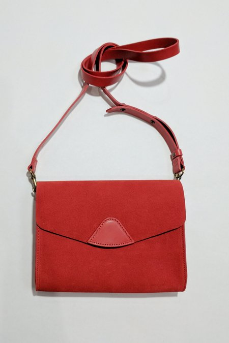 VereVerto Mini Mox - Cherry Suede