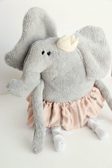 Kid's Mila's Zoo Henrietta Elephant