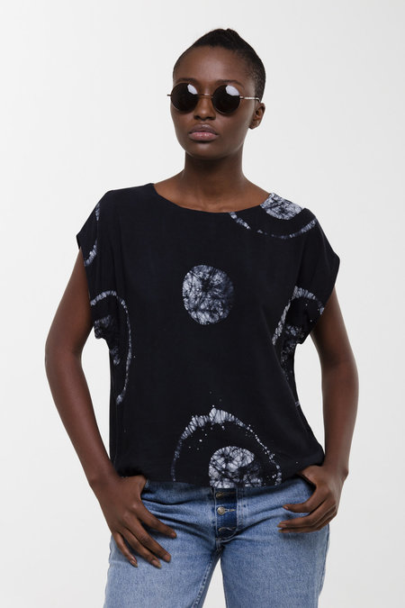 Osei-Duro Oversized Maena Top in Astronomy