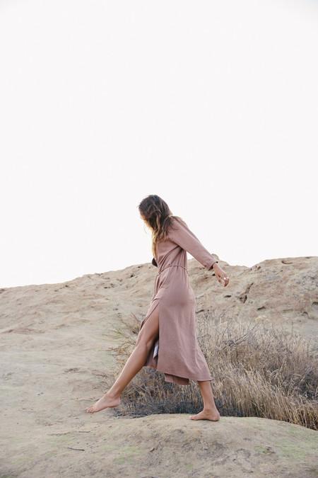 Ozma Mal Pais Dress - Sand
