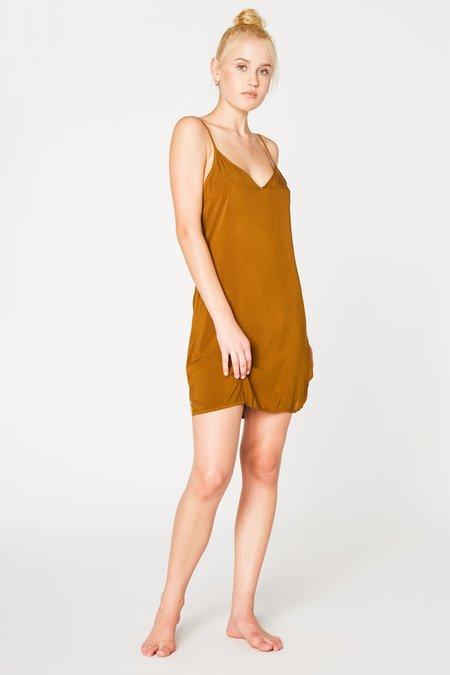 Lacausa Clothing V Slip in Bronze