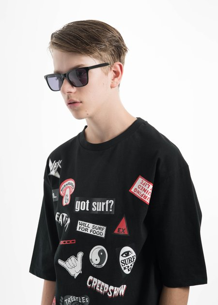 all in Black York Sunglasses