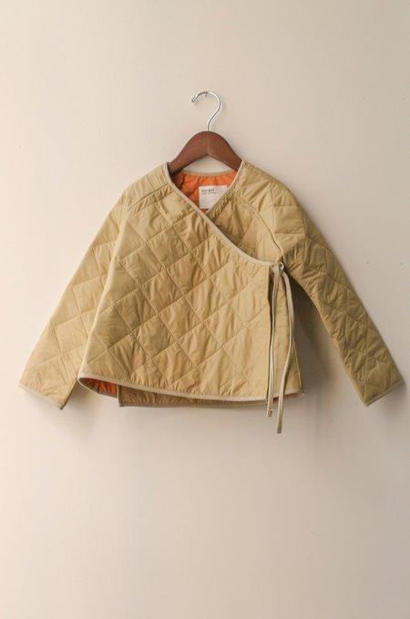 Kid's Boy+Girl Kimono Jacket in Khaki Puff
