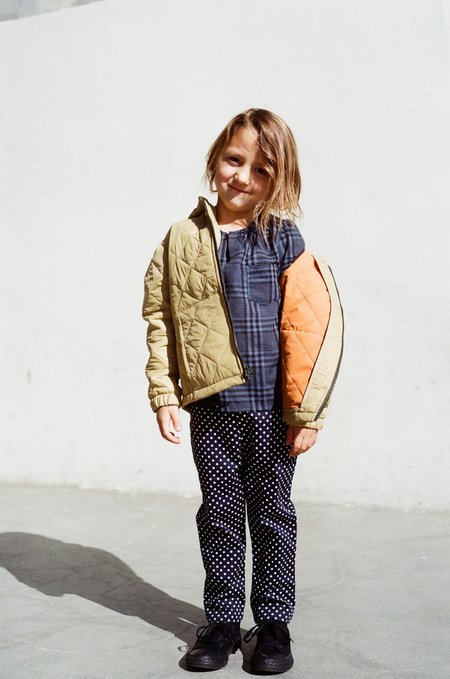 Kid's Shopboyandgirl L/S Kurta in Blue