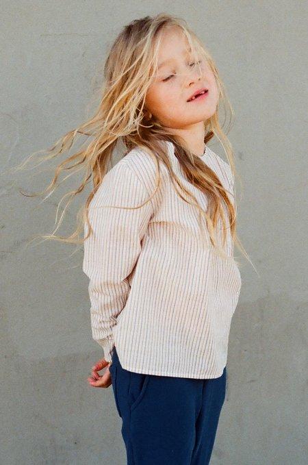 Kid's Shopboyandgirl L/S Kurta in Pinstripe