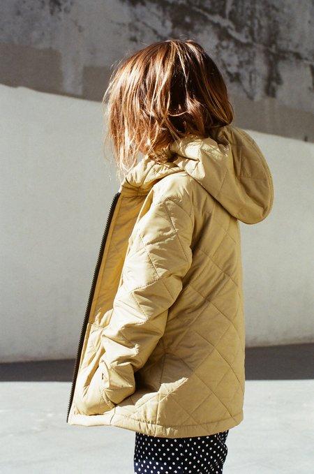 Kid's Shopboyandgirl Oak Jacket in Khaki Puff