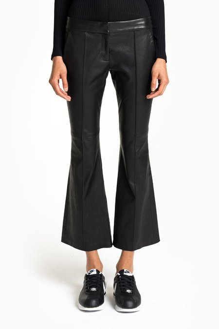 A.L.C. EVAN LEATHER PANT