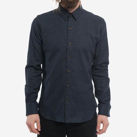 18 Waits The Dylan Shirt - Midnight Navy Flannel