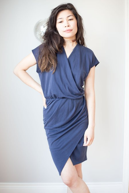 Eve Gravel Soul City Dress - Navy