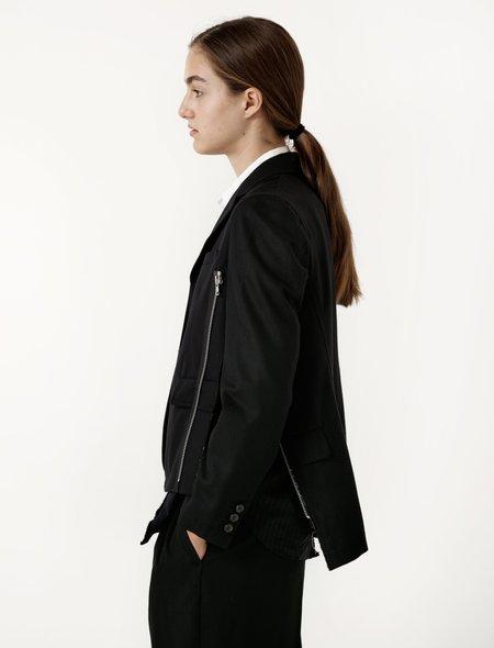 Comme des Garcons Comme des Garcons Womens Deconstructed Zipper Jacket