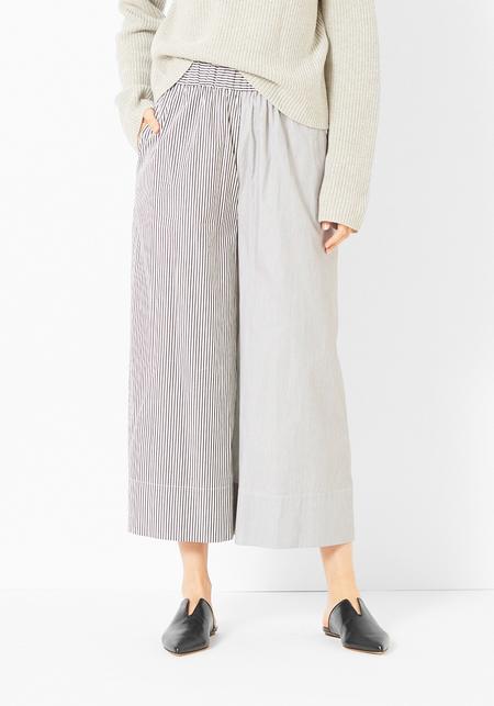 Tibi Striped Shirting Wide Leg Pant
