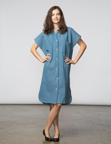 SBJ Austin R Dress - Denim