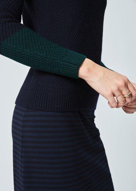 Labo.Art Pico Knit Merino Sweater - Atlantic/Baltic