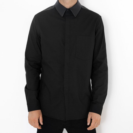 Walter's Son The Black Leather Shirt