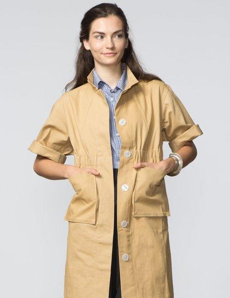 SBJ Austin Kimberly Jacket - Khaki Canvas