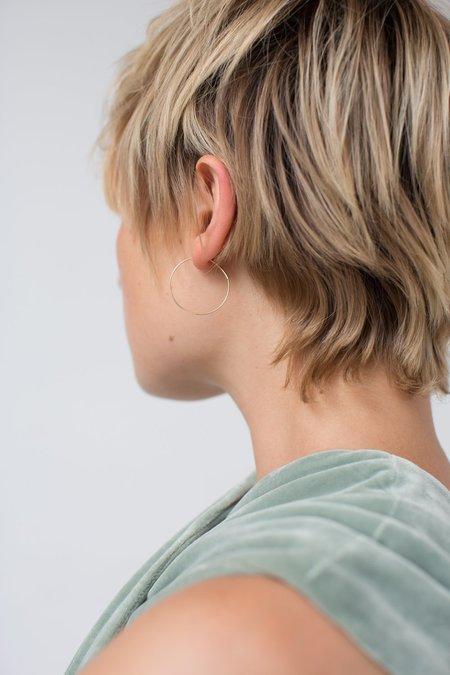 Kathleen Whitaker Small Hoop Earrings - Gold