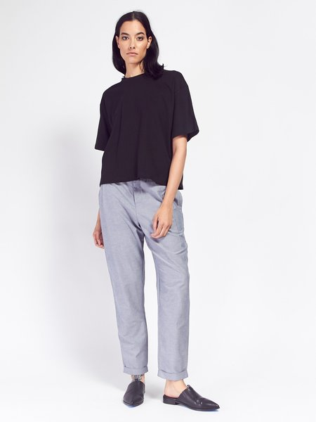 Kowtow Building Block Boxy Tee - Black