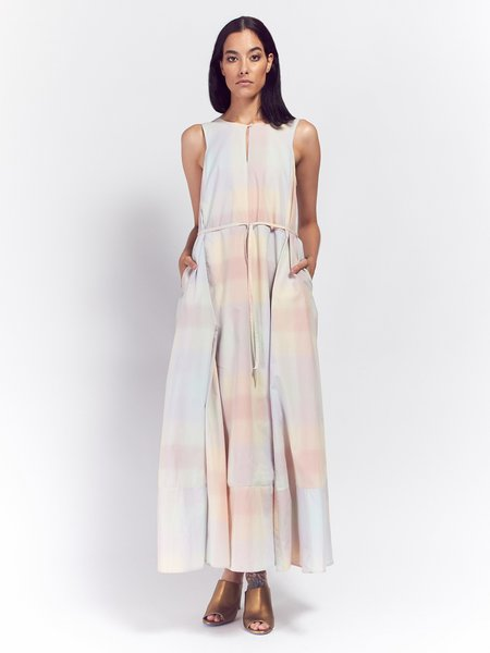 Kowtow Remember Me Dress - Pastel Check