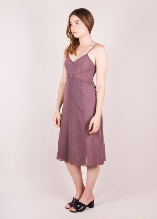 Botanica Workshop Vetiver Slip Dress - Viola