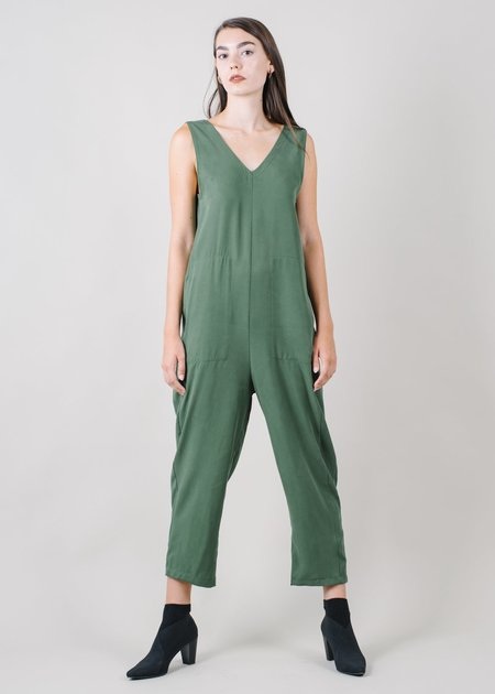 REIFhaus Lou Jumpsuit in Loden