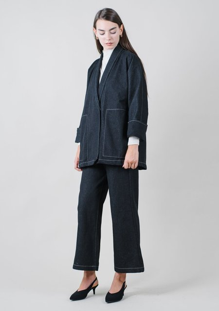 REIFhaus Yoko Jacket in Black Denim