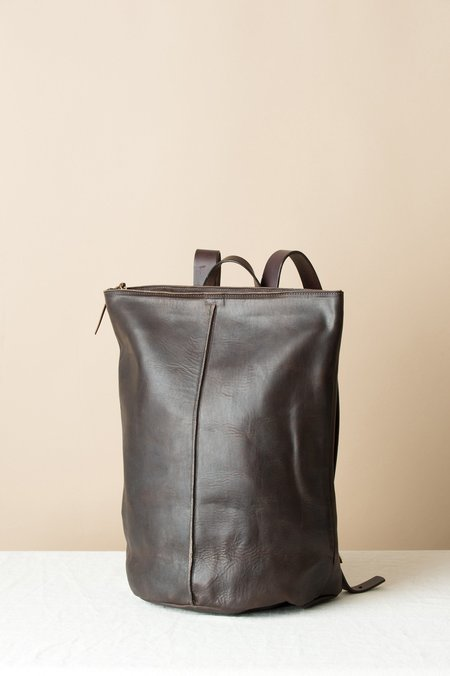 KikaNY Leather Road Tripper With Spine