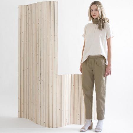 wrk-shp Pocket Pant - Wood