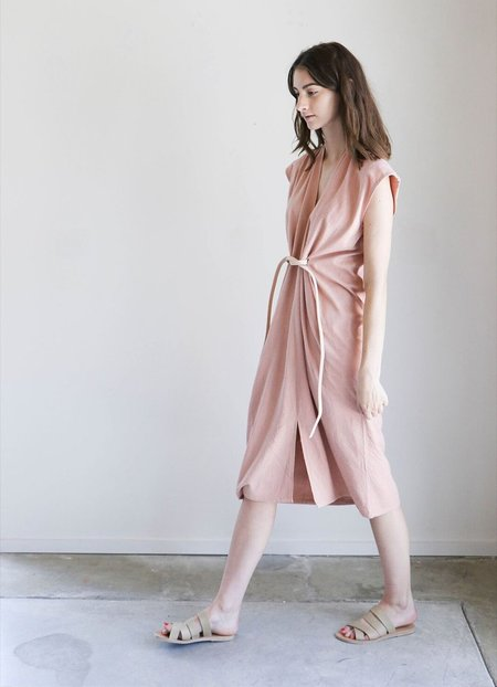Miranda Bennett Knot Dress - Nico Silk Noil