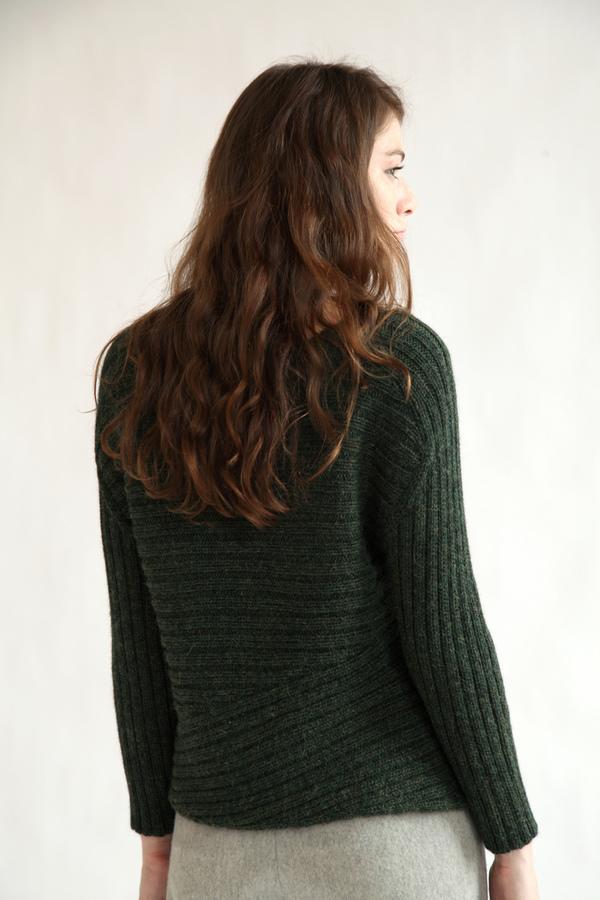 Kordal Carolina Sweater   Moss
