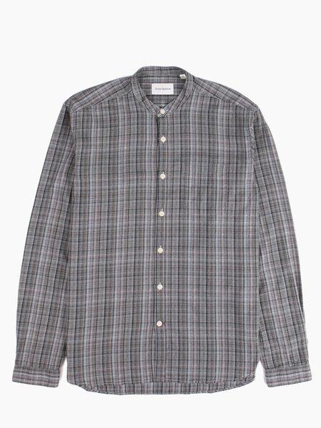 Oliver Spencer Grandad Shirt Green