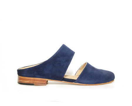 ZOU XOU Mule in Midnight Suede Instant Ship