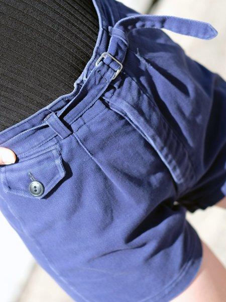 Men's Vintage 1940's Navy Athletic Shorts