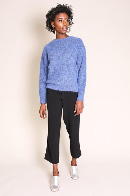 Sayaka Davis Cocoon Sweater in Aegean Blue