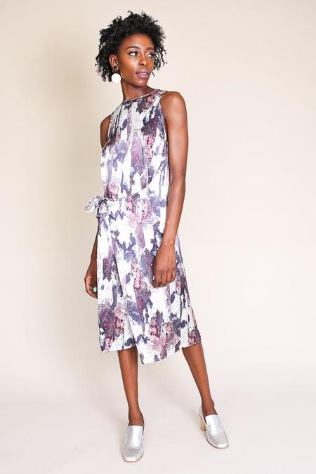 Where Mountains Meet Geo Dress in Marly Print