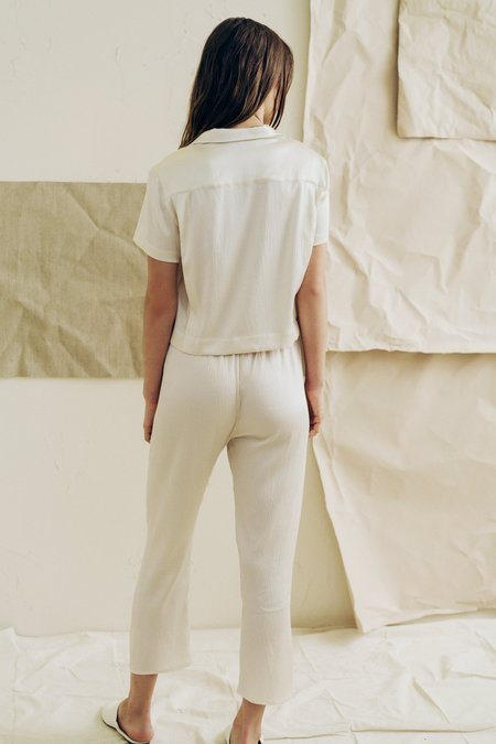 The Great Eros Odessa Cropped Pant in Opal