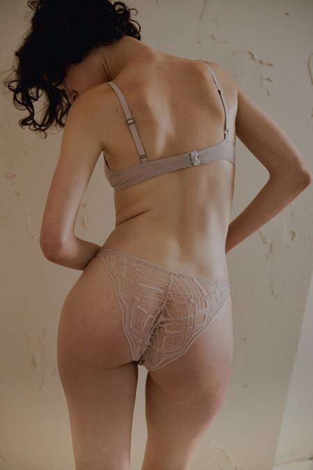The Great Eros Sonata Seamless Bikini in Putty