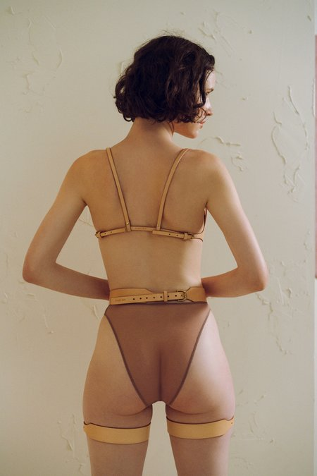 Fleet IIya Suspender Harness in Nude