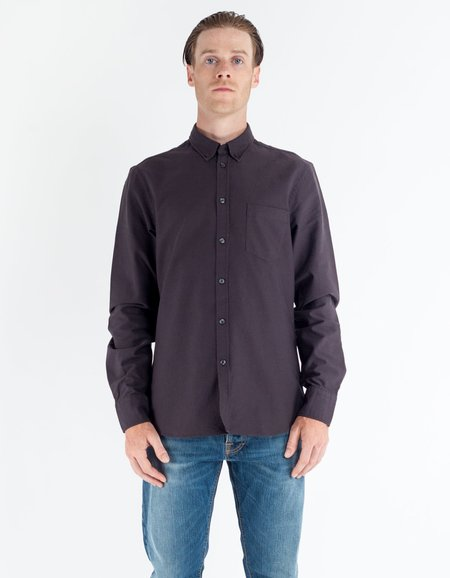 Filippa K Paul Oxford Shirt - Slate Black
