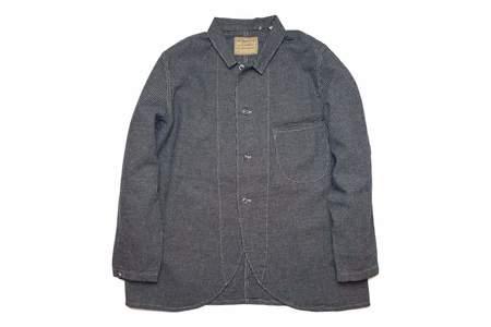 Levi's Vintage Clothing Lot 3356 Sack Coat Indigo Check