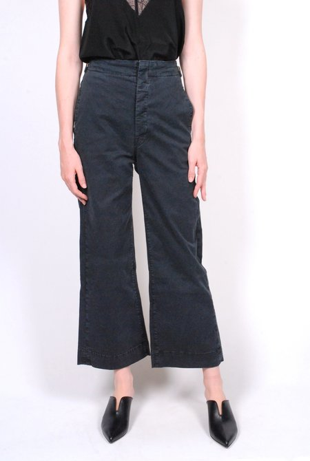 Mother Denim The Cinch Greaser - Black