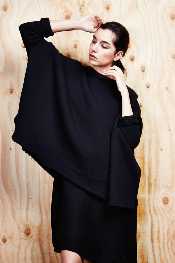 Devlyn van Loon Oversized Curve Sweater