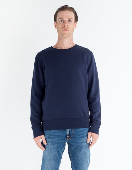 Nudie Evert Light Sweatshirt - Indigo